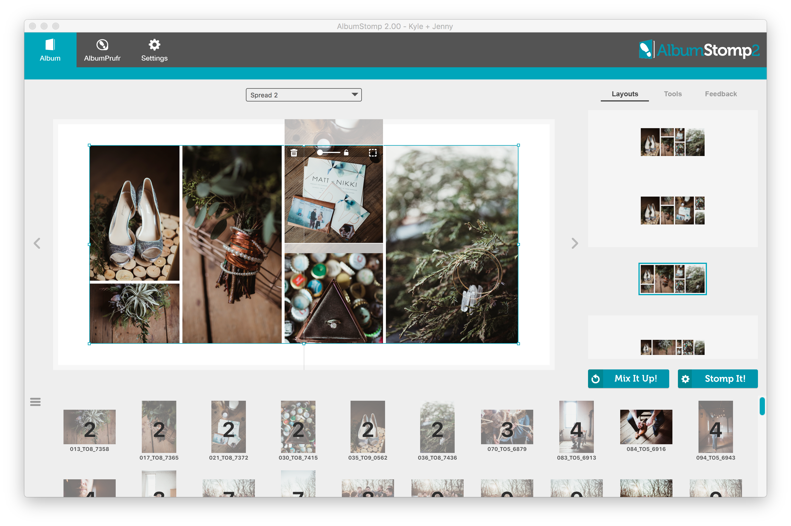 Crop an image in AlbumStomp | StompSoftware